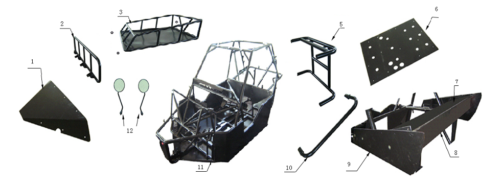 F1 Frame Assembly