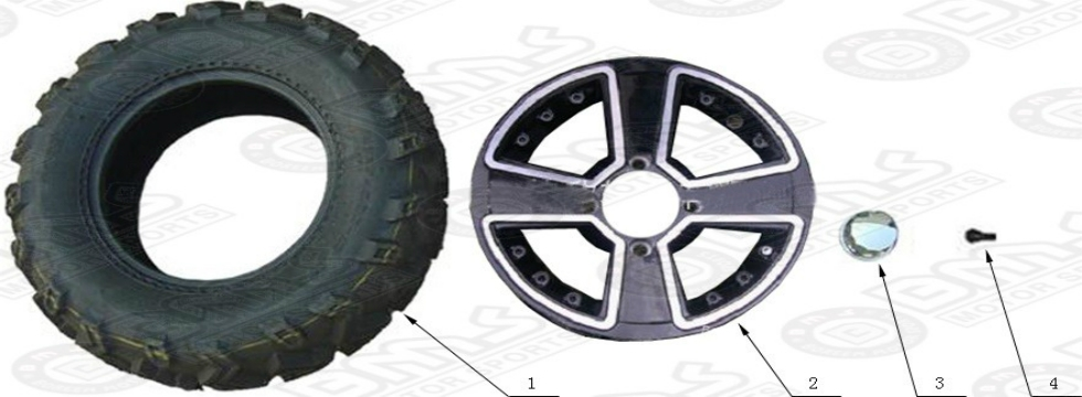 F16 Wheel