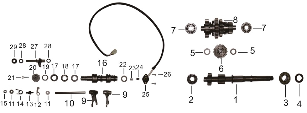 E-14 Gear Shifting
