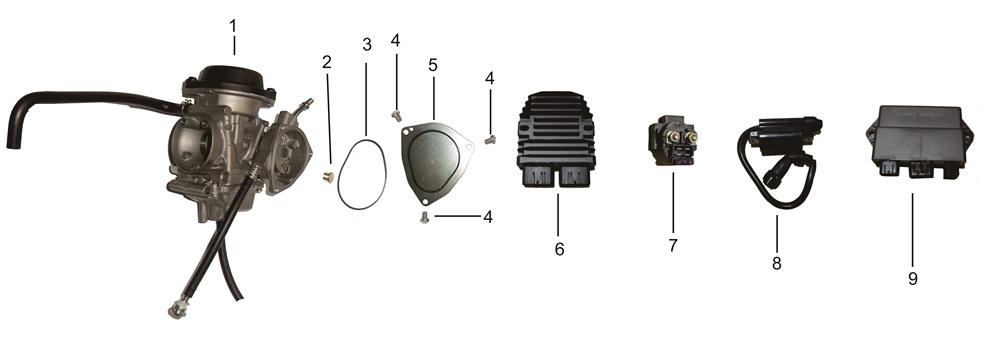 E-16 Carburetor Assembly