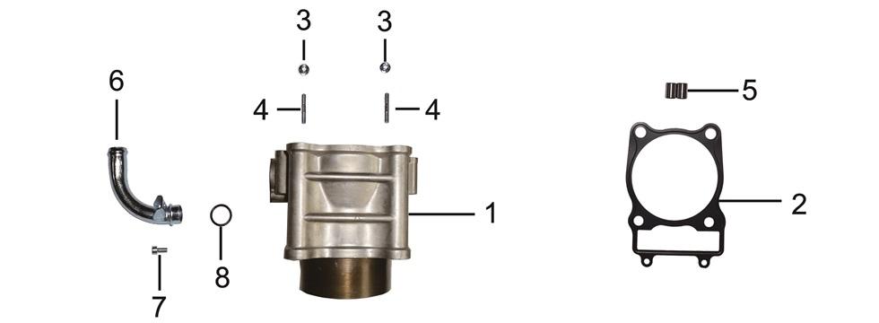 E-2 Cylinder Body