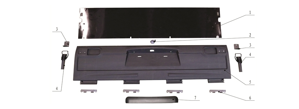 F-3 Cargo Bed Board