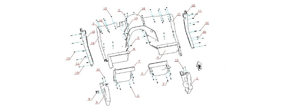 F16 FLOOR PANEL