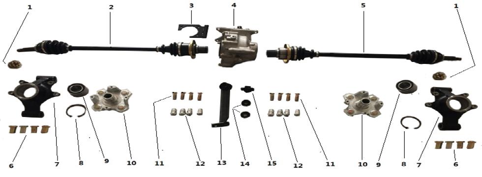F5 Rear drive system