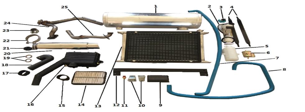 F9 Cooling Systmem