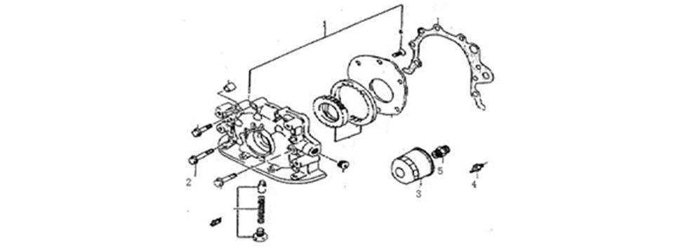 E-9 Oil Pump