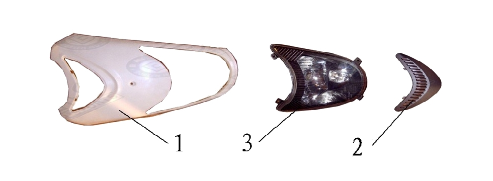 F4 HEAD LIGHT ASSY