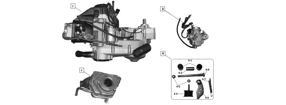 E15 ENGINE ASSY