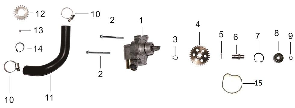 E10 Water Pump