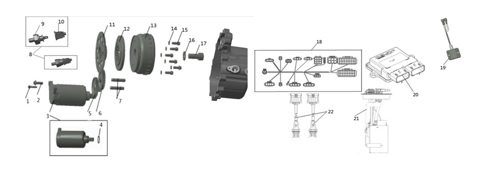 E-11 Oil Pump & Filter