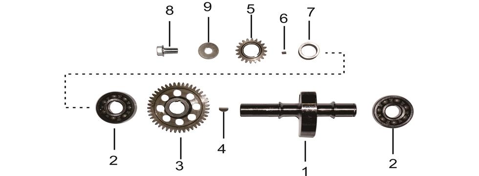 E6 Crank Balance