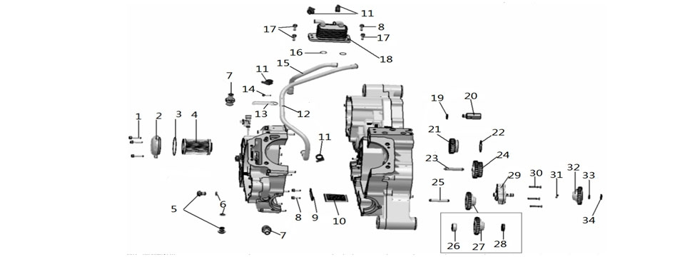 E9 LUBRICATING SYSTEM