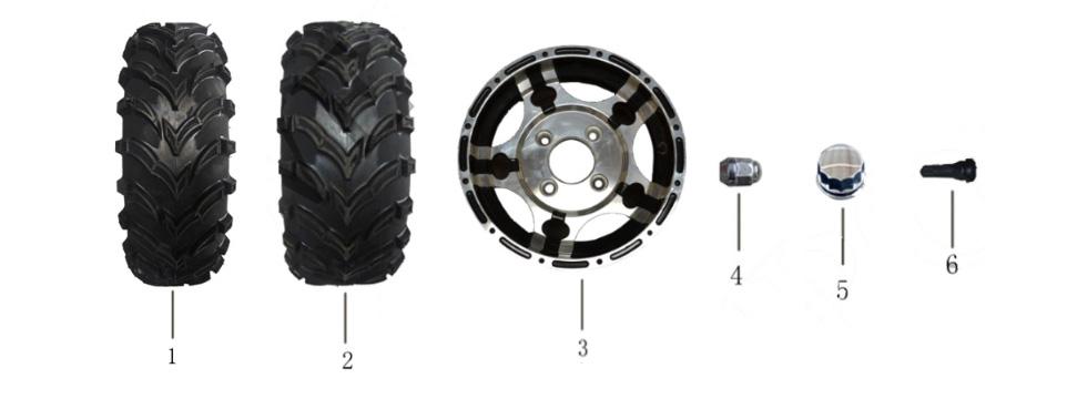F20 Rim & Tire
