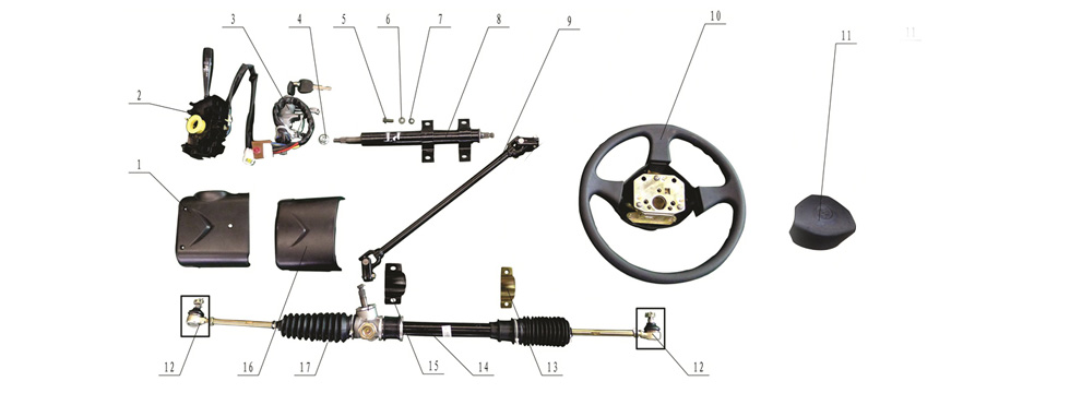 F-5 Steering Sys