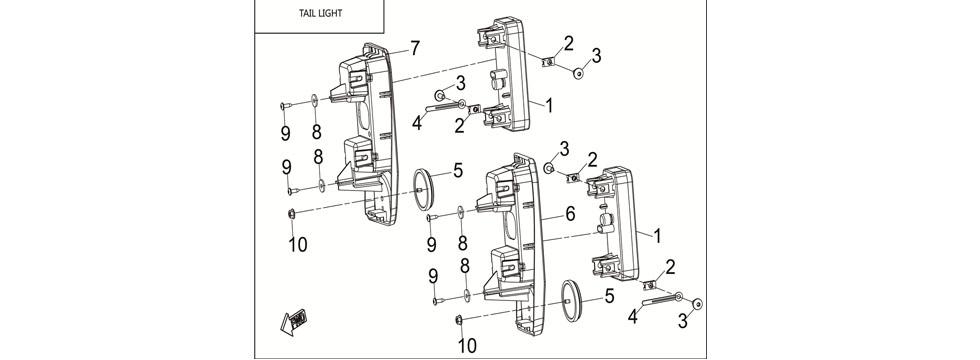 F12 LICENSE PLATE LIGHT