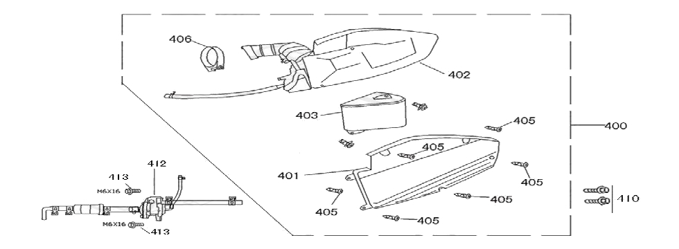 F13 AIR INTAKE ASSY