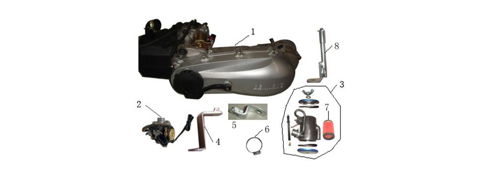 F16 ENGINE ASSY