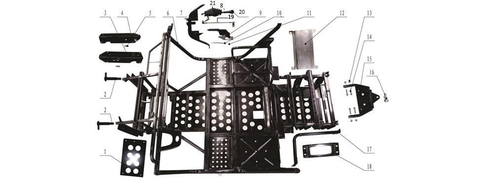 F-1 Frame