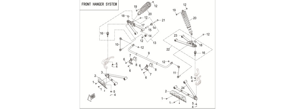F21 FRONT SUSPENSION SYSTEM
