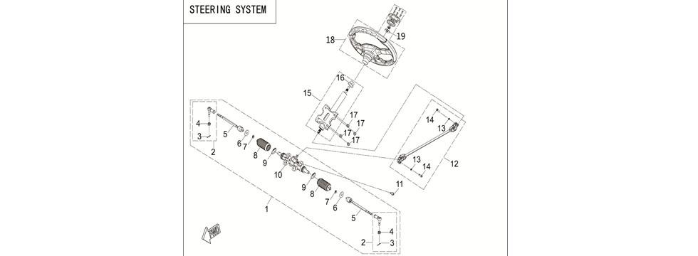 F23 STEERING SYSTEM