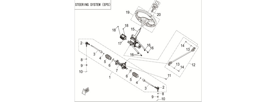 F24 STEERING SYSTEM