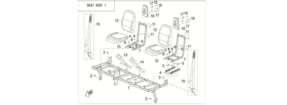 F25 SEAT ASSY 1