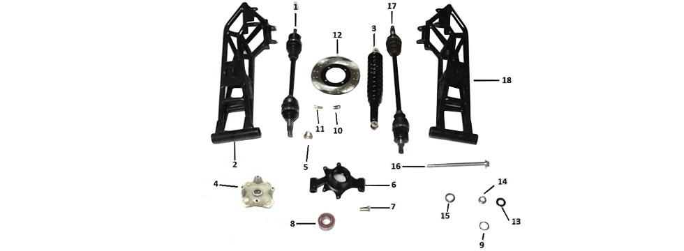 F2 Rear Suspension