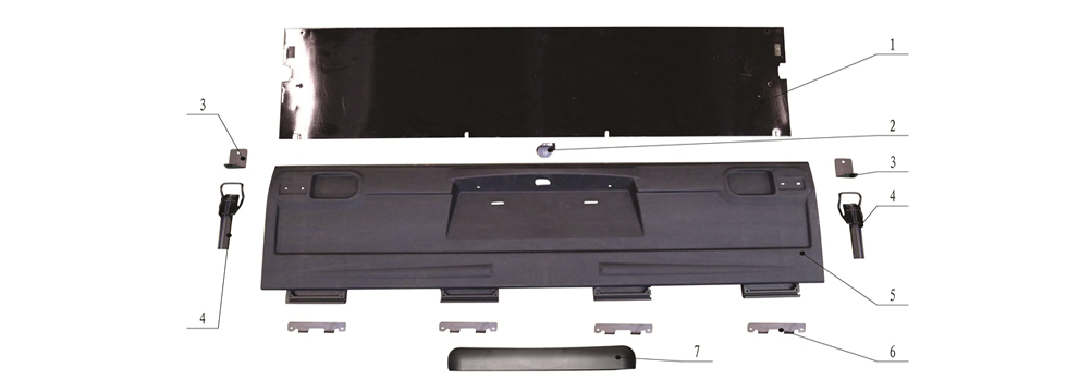 F3 CARGO BED BOARD