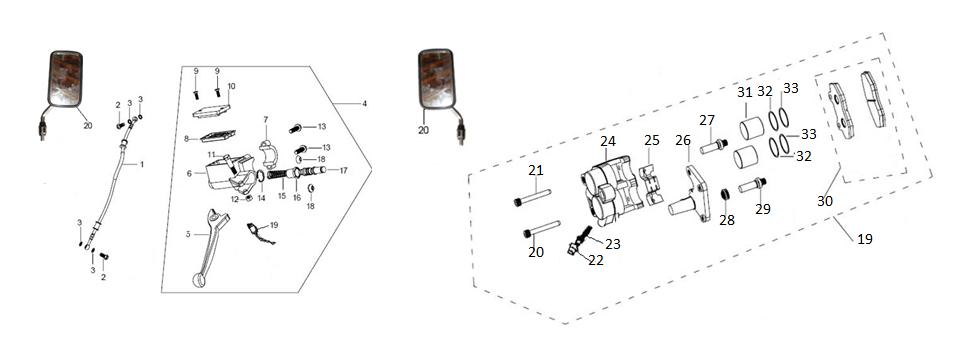 F14 Front Brake Sistem