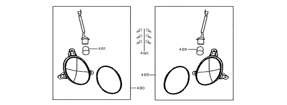 F17 TURN SIGNAL ASSY