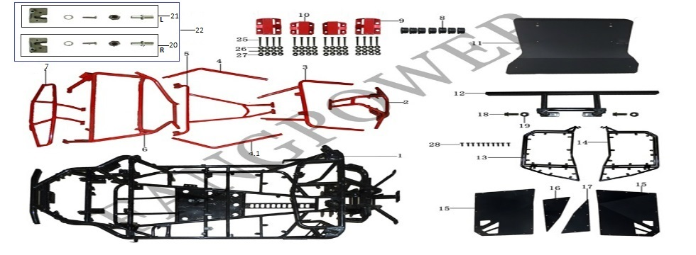 F12-Frame & Accessories