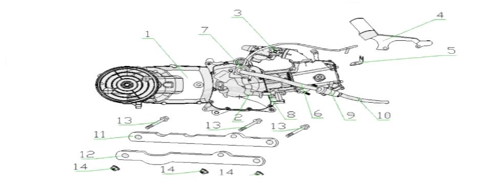F1 ENGINE ASSY