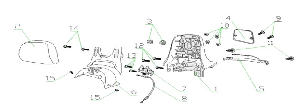 F13 BACKREST