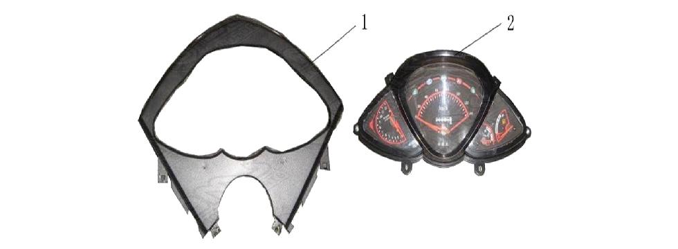 F14 SPEEDOMOTER ASSY