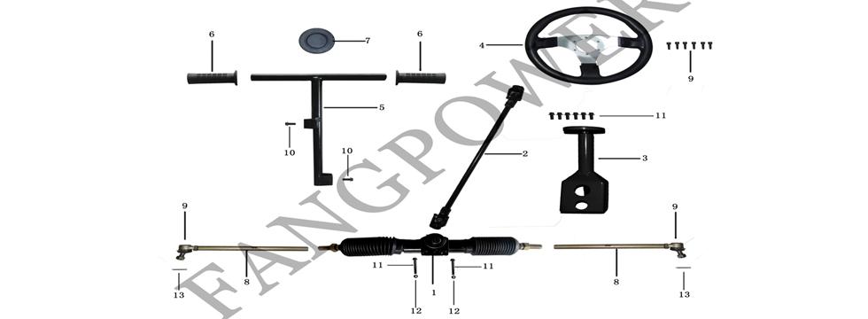 F3 Steering Mechanism