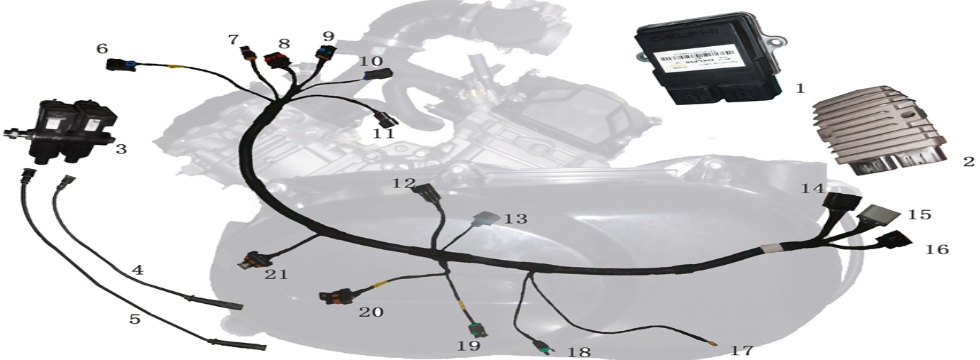 E13 Engine Harness