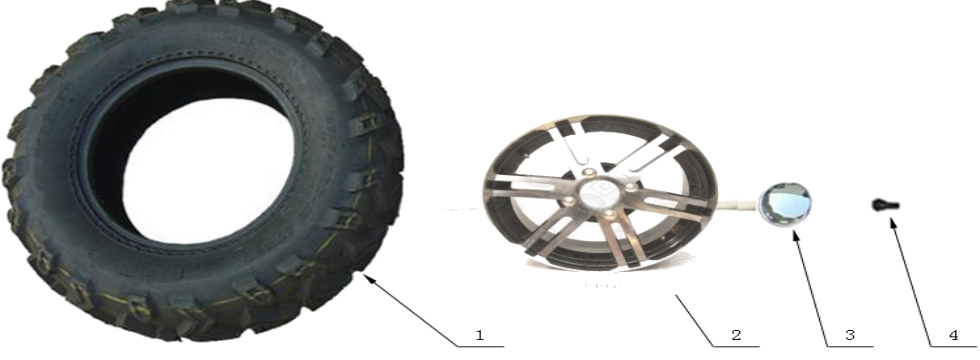 F14 Wheel & Tire