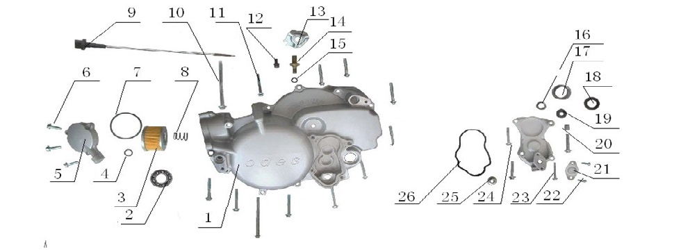 E11 Front Cover Assy