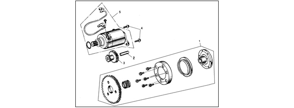 E14 ELECTRIC STARTING SYSTEM