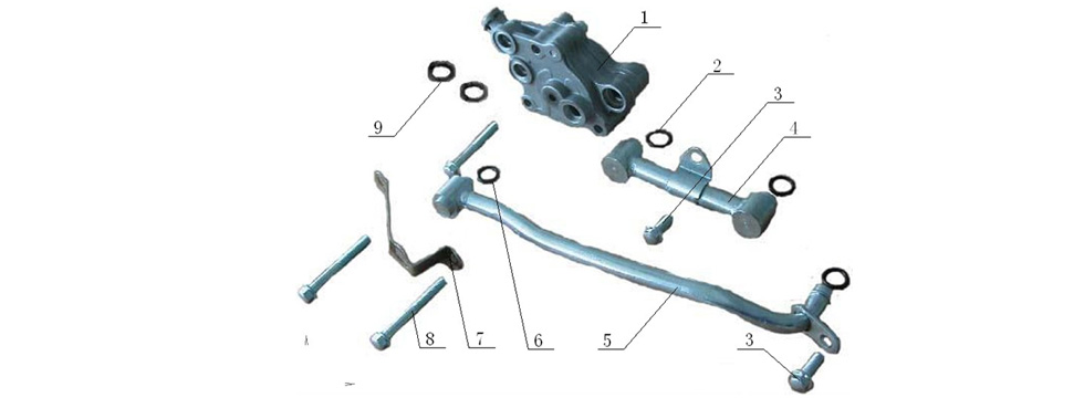 E16 Oil Pump Assembly