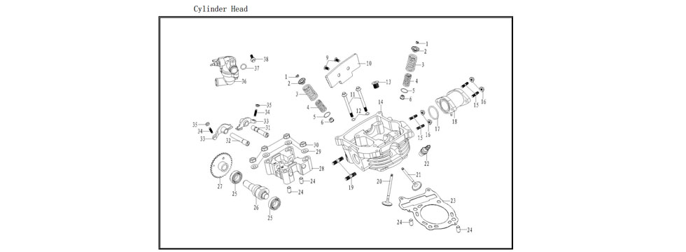 E2 Cylinder Head