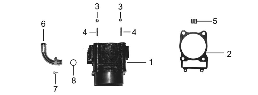 E2 Cylinder Body