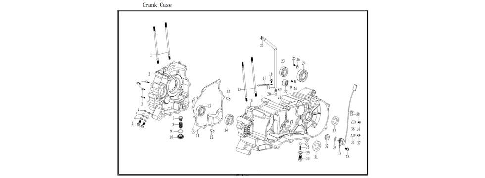 E5 Crank Case
