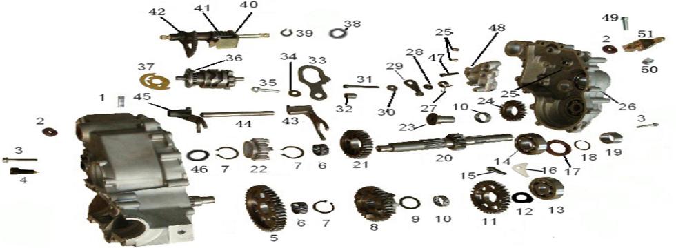 E8 Gear Box