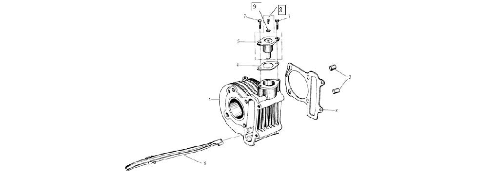 E-8 Cylinder