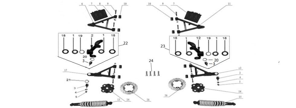 F15 Front Suspension