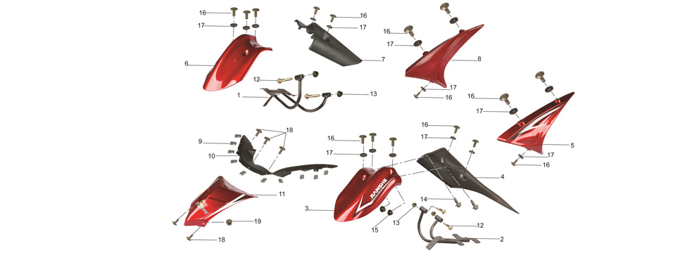 F15 FRONT BODY PARTS