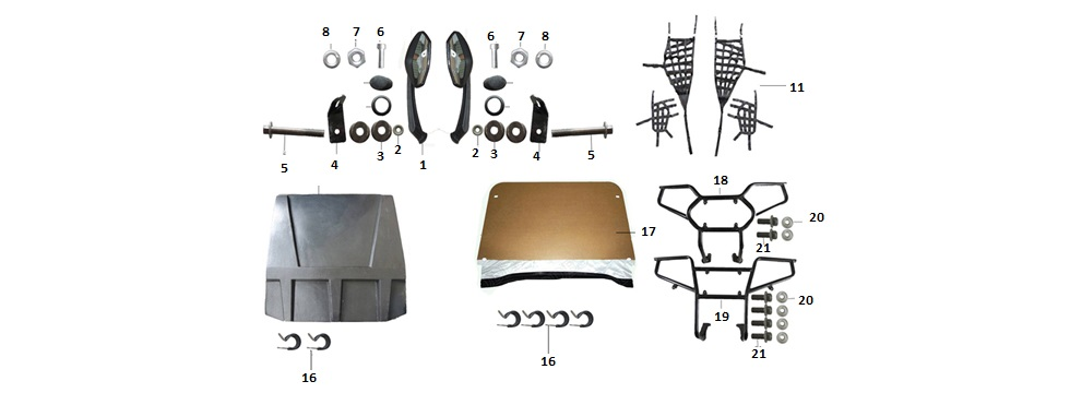 F15 Accesories