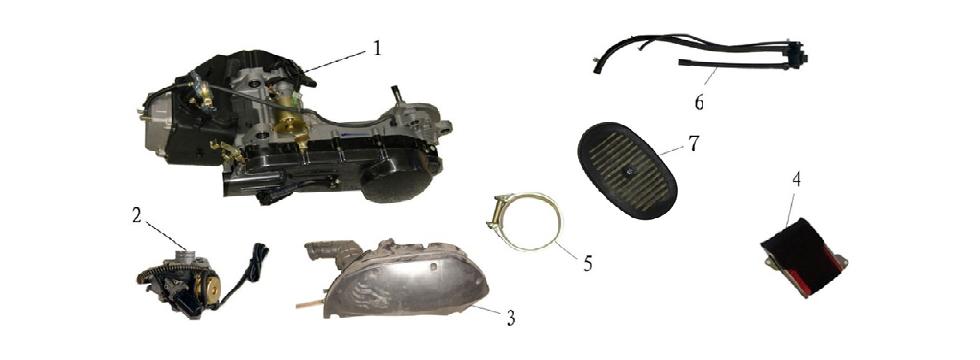 F15 Engine Parts