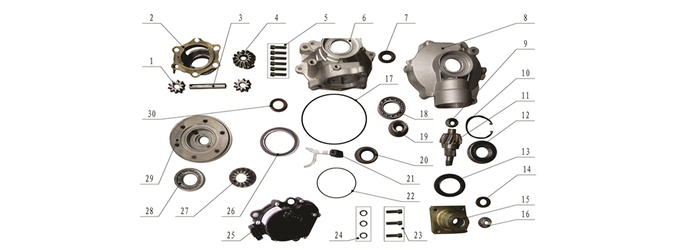 F18 Front Differential